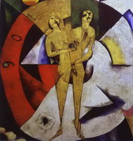 Marc Chagall. Homage to Apollinaire, 1910–1911