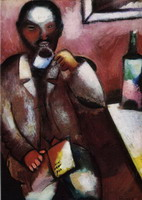 Marc Chagall. Mazin, the Poet, 1911–1912