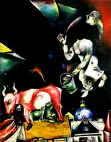 Marc Chagall. Russia. Asses and Others., 1911–1912